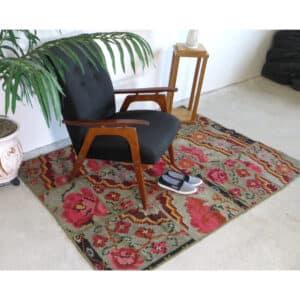 "Large kilim rugs 219cm x 347cm/7'18""x11'38"""