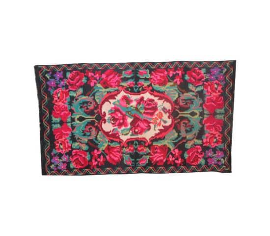 tapis bohème tapis kilim rouge tapis moldave pink kilim rugs