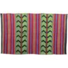 tapis kilim vert et noir tapis kilim moderne vintage kilim rugs