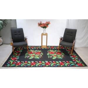 Floral rug 155cm x 260cm