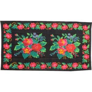 Floral rug 147cm x 272cm
