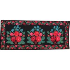 """Floral rug 122cm x 290cm/4'x9'51"""""""