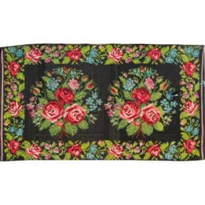 """Floral rug 190cm x 342cm/6'23"""" x 11'22"""""""