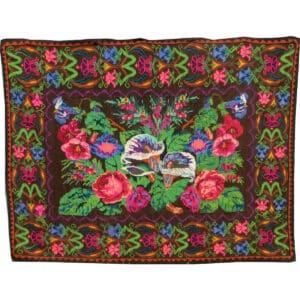 """Floral rug 224cm x 292cm/7'34"""" x 9'58"""""""