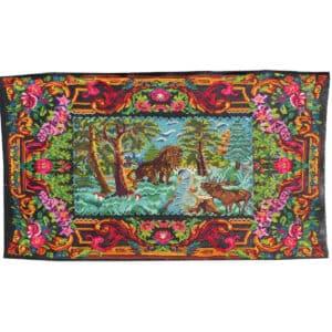 """Floral rug 225cm x 395cm/7'38"""" x 12'95"""""""