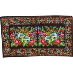 """Floral rug 198cm x 350cm/6'49"""" x 11'48"""""""