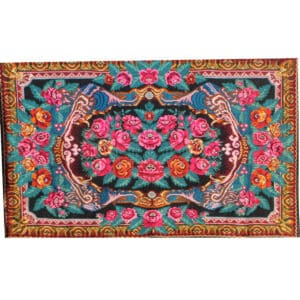 "Large kilim rugs 207cm x 338cm/6'79"" x 11'08"""