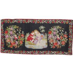 Vintage kilim rugs 165cm x 336cm