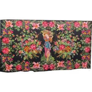 """Floral rug 191cm x 338cm/6'25"""" x 11'08"""""""