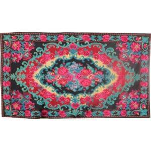 """Floral rug 195cm x 343cm/6'39"""" x 11'25"""""""