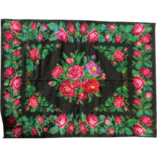 tapis kilim red kilim rug N149 Tapis kilim rouge