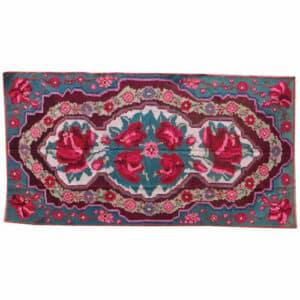 "Red kilim rug 169cm x 320cm/5'54″x10'49"""