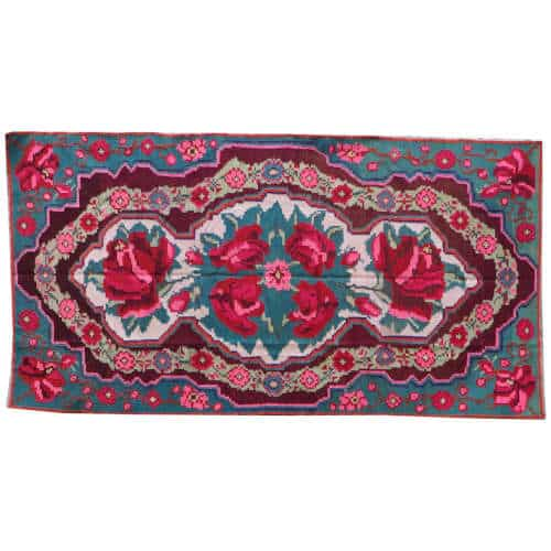 tapis kilim red kilim rug N192 Tapis kilim rouge