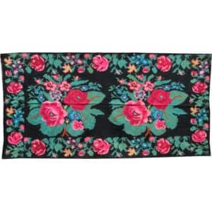 Floral rug 140cm x 278cm