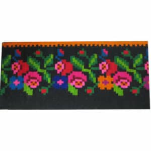 """Floral rug 51cm x 428cm/1'67""""x14'04"""""""