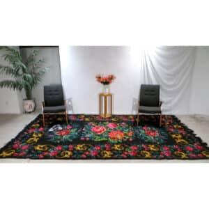 "Large kilim rugs 204cm x 360cm/ 6'69"" x 11'81"""