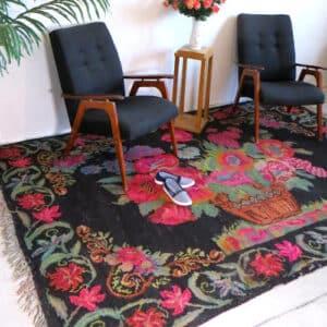 "Wall carpet 184cm x 286cm/6'03""x9'38"""
