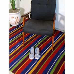 """Vintage kilim rugs 131cm x 298cm/4'29""""x9'77"""""""