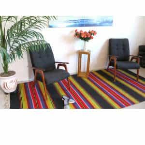 """Vintage kilim rugs 140cm x 302cm/4'59″x9'90"""""""