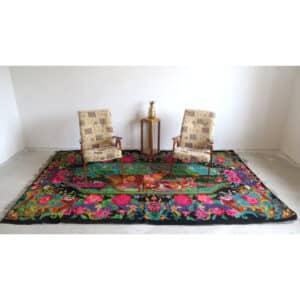 """Floral rug 200cm x 320cm/6'56""""x10'49"""""""