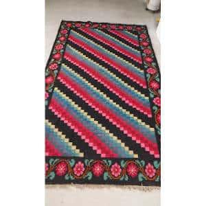 vintage kilim rugs wool Tapis Kilim rugs