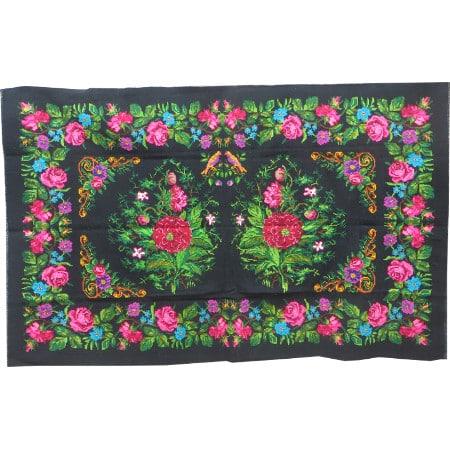 Floral rug N35