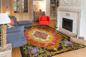 tapis kilim salon